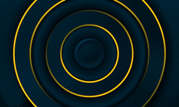 Abstrait radial