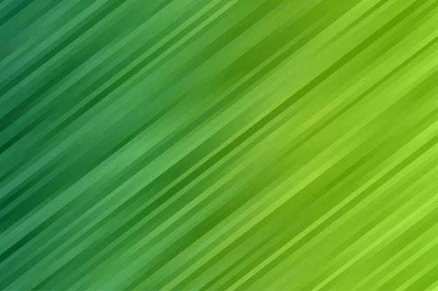 Abstrait rayé de couleur verte