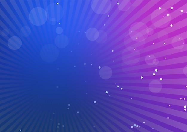 Abstrait avec des rayons de lumière