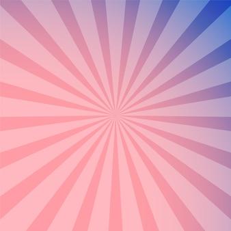 Abstrait de rayons pourpre rose