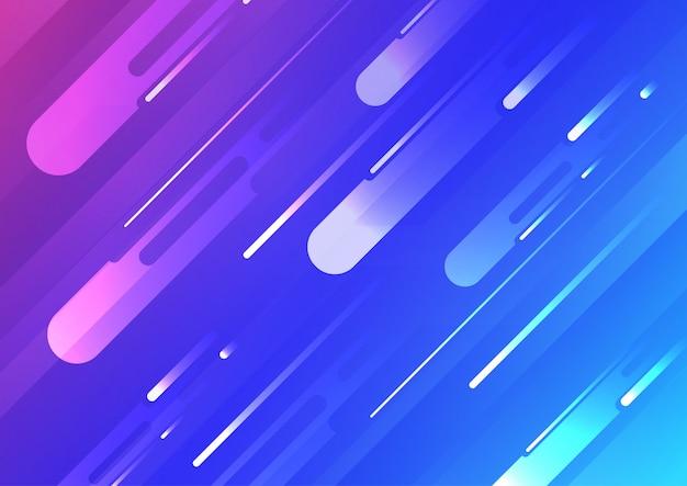 Abstrait avec des rayures. fond géométrique minimal. composition de formes dynamiques.