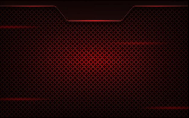 Abstrait réaliste rouge foncé
