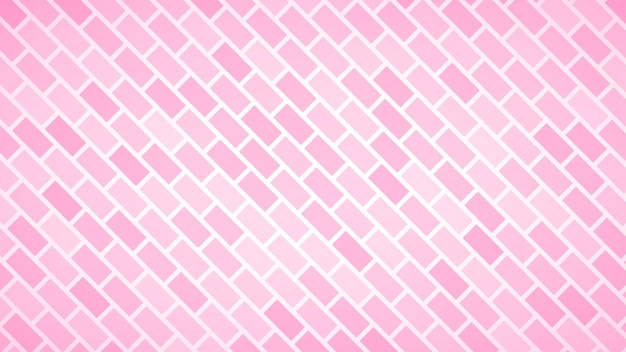 Abstrait de rectangles disposés en diagonale dans des couleurs roses