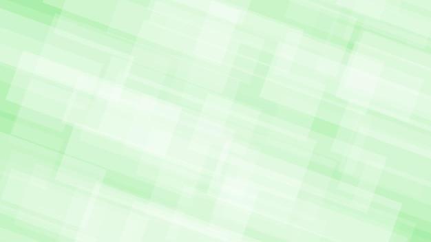 Abstrait de rectangles translucides dans des couleurs blanches et vertes
