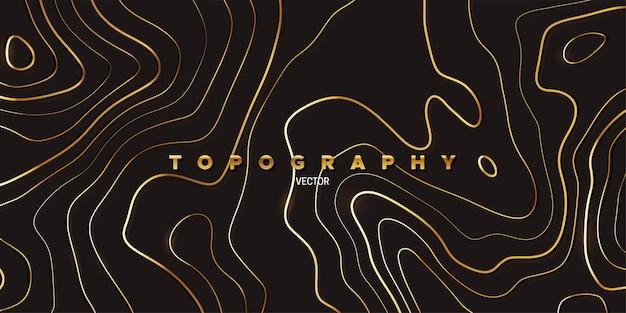 Abstrait avec relief topographie