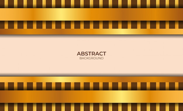 Abstrait rose clair et fond d'or