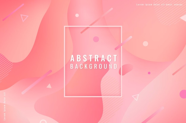 Abstrait rose pastel à motifs sans couture