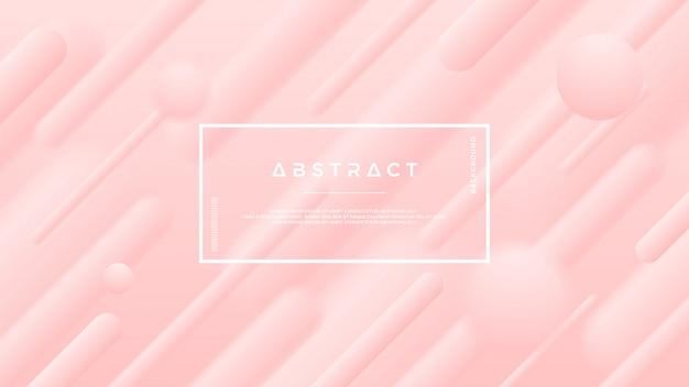 Abstrait rose tendre.