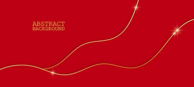 Abstrait rouge. illustration vectorielle