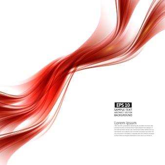 Abstrait rouge avec motif géométrique de lignes