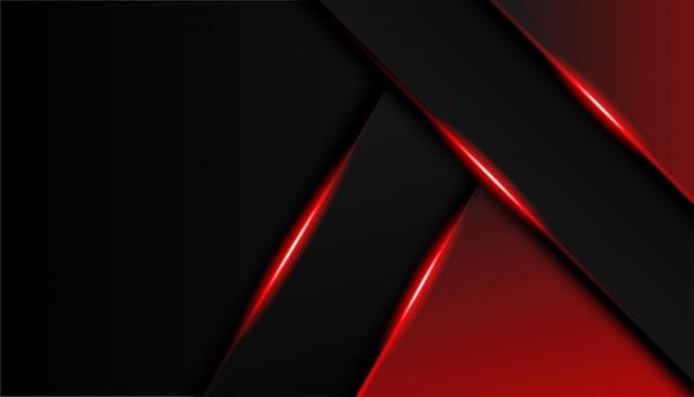 Abstrait rouge et noir
