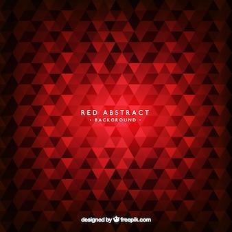 Abstrait rouge avec un style élégant
