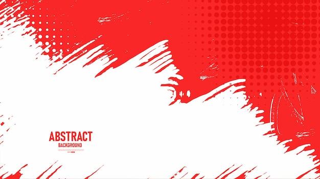 Abstrait rouge avec texture grunge