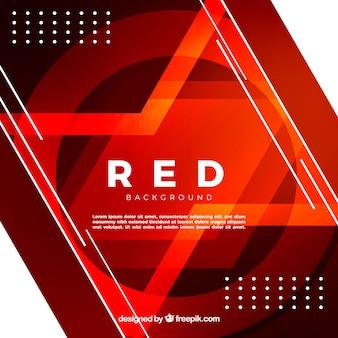 Abstrait rouge