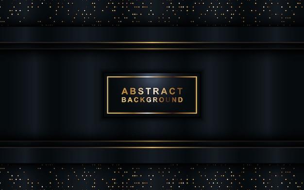 Abstrait sombre vecteur métallique 3d.