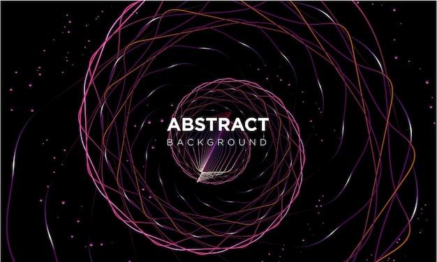 Abstrait en spirale