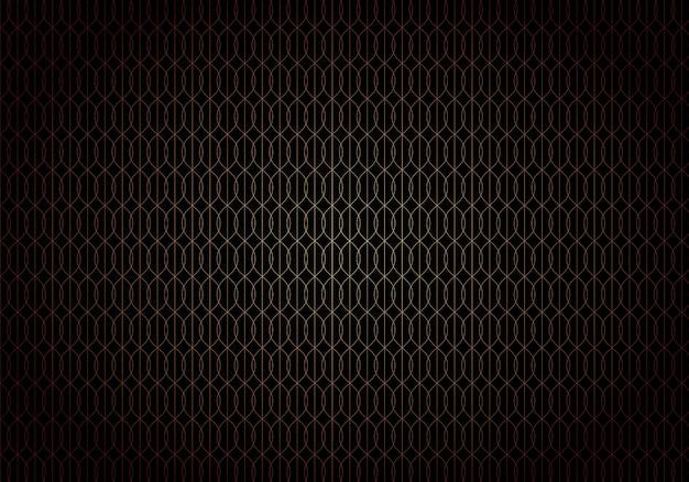 Abstrait style art déco noir