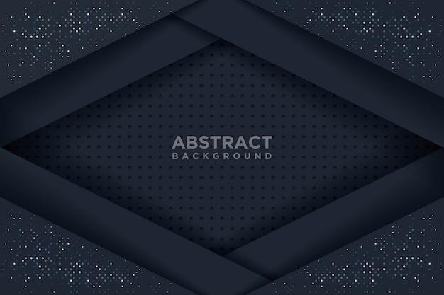 Abstrait avec un style d'art de papier 3d.