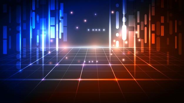 Abstrait de la technologie numérique
