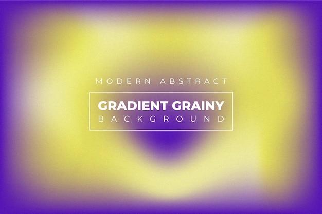 Abstrait tendance granuleuse dégradé moderne