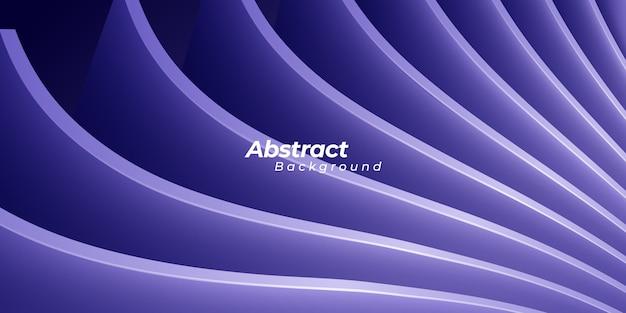 Abstrait tendance violet 3d
