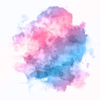 Abstrait avec une texture aquarelle détaillée colorée