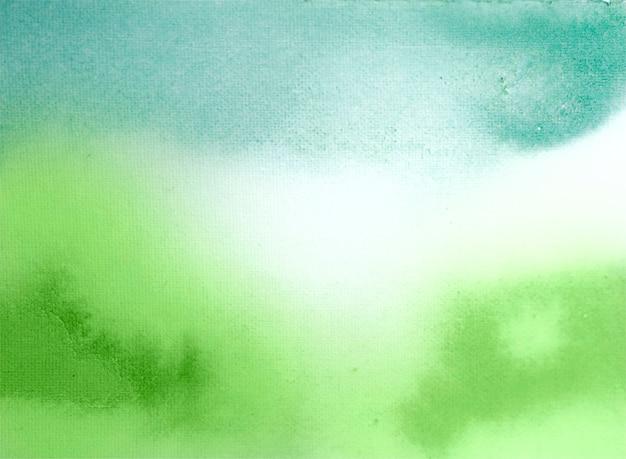 Abstrait de texture aquarelle verte
