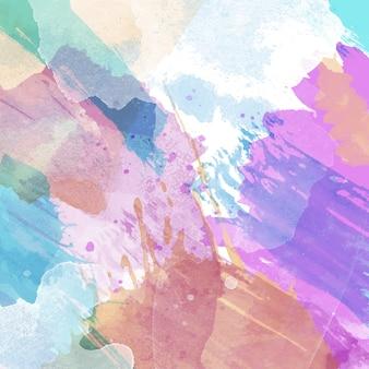 Abstrait avec une texture aquarelle