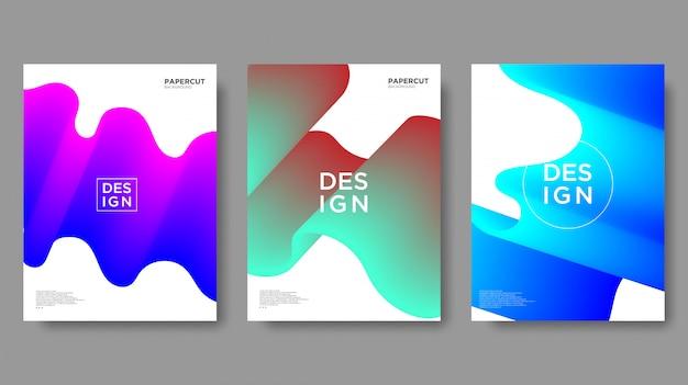 Abstrait, texture dégradée et style moderne