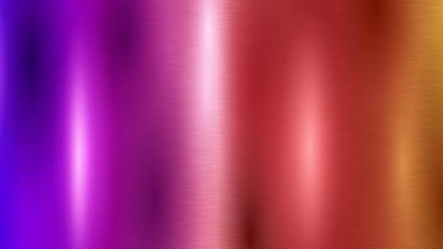 Abstrait avec texture en métal coloré