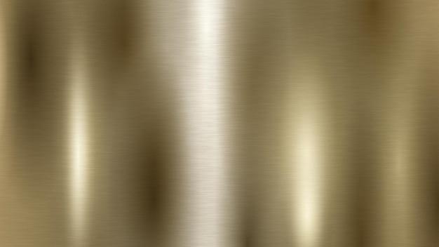 Abstrait avec texture en métal de couleur dorée