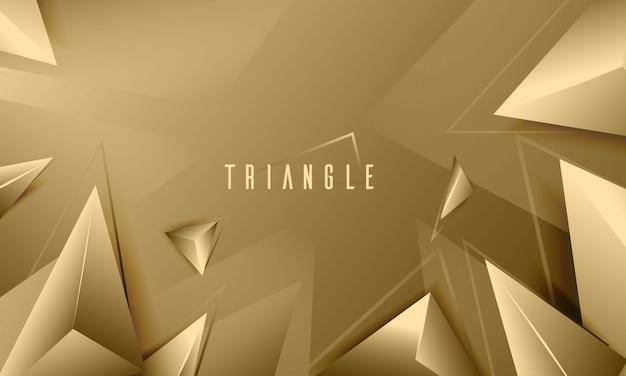 Abstrait de texture triangle élégant