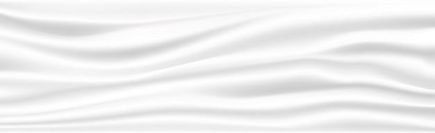 Abstrait en tissu blanc.