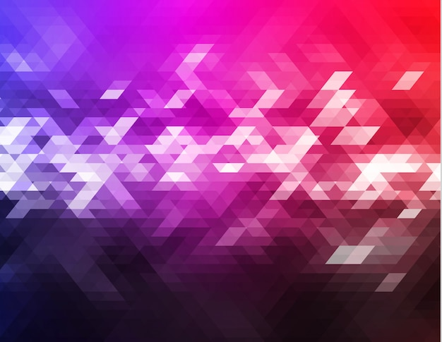 Abstrait triangle vecteur