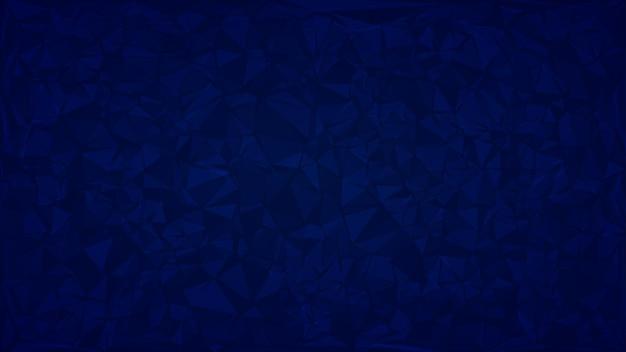 Abstrait de triangles aux couleurs bleues.
