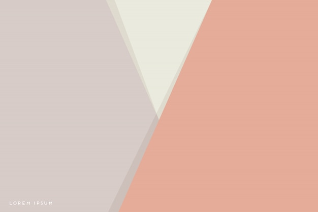 Abstrait Avec Des Triangles Colorés Vecteur gratuit