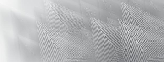 Abstrait de triangles en couleurs grises