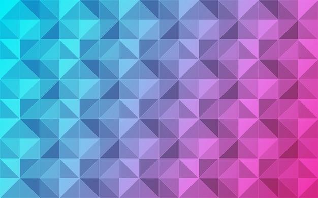 Abstrait de triangles.