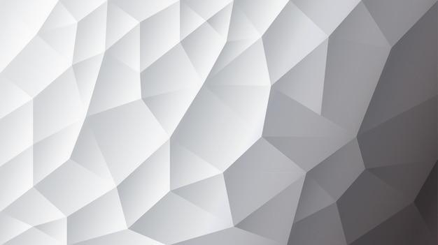 Abstrait triangulé fond blanc fond gris illustrator