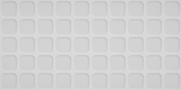 Abstrait avec des trous carrés dans des couleurs blanches
