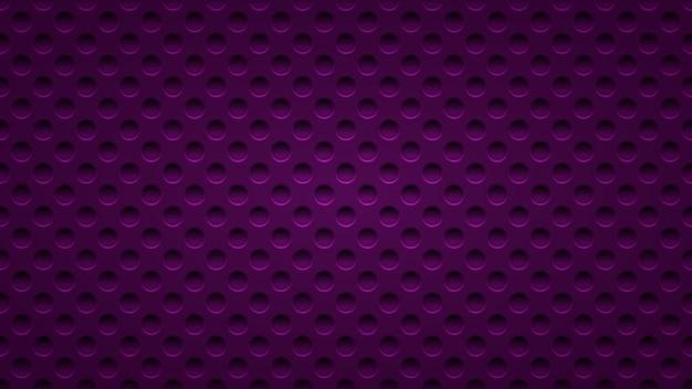 Abstrait avec des trous dans des couleurs violet foncé