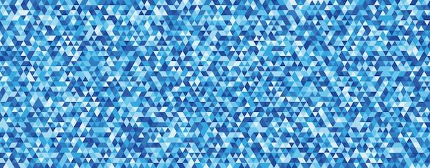 Abstrait avec l'unité de la forme triangle bleu.