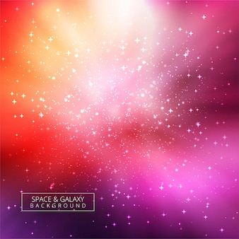 Abstrait de l'univers galaxie brillant