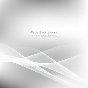 Abstrait vague élégante gris