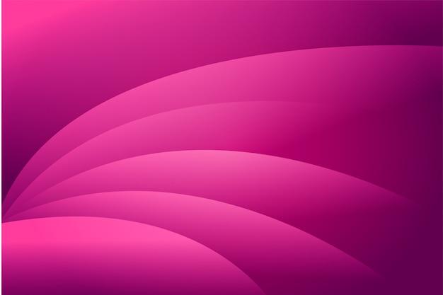 Abstrait de la vague rose