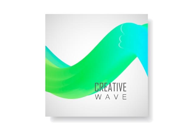Abstrait de la vague vecteur