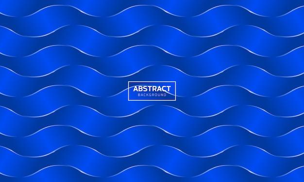 Abstrait vagues bleues