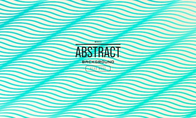 Abstrait vagues