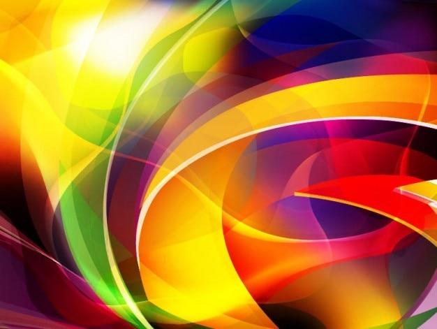 Abstrait vecteur de fond coloré