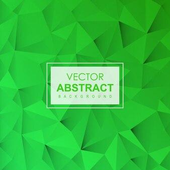 Abstrait de vecteur vert